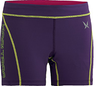 Kari Traa Svalestjert Shorts, løbeshorts, grape