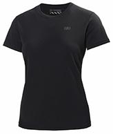 Helly Hansen W Training T-Shirt, korte ærmer, sort