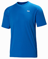 Helly Hansen Training T-Shirt, korte ærmer, blå