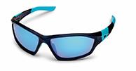Demon Emotion 2 Revo sportssolbriller, sort/blå