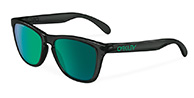 Oakley Frogskins Black Ink, Jade Iridium Polarized