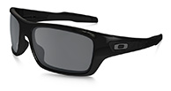 Oakley Turbine Polished Black, Black Iridium