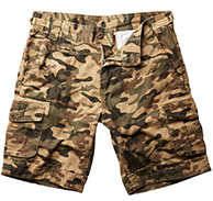 Weather Report Melker, Cargo Shorts, herre, camouflage
