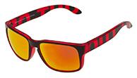 Out Of Swordfish solbriller, Red Transparent