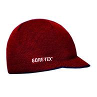 Kama strikhue med Gore-Tex, m. skygge, rød