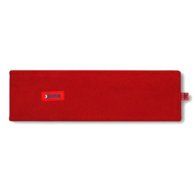 Pandebånd i blødt og lækkert Pontotorto Tecnopile 420 g/m2 fleece.Varmt, godt og billigt pandebånd, men stadig i et lækkert kvalitetsmateriale, som fås i flere forskellige farver. Her i farven rød.Pandebånd - beklædning til mange formålEt utal af anvendelsesmuligheder, udover skiferien er pandebåndet oplagt til brug på cykelturen, scooteren, løbeturen og meget andet. Holder dig varm på meget vitale steder, og forebygger de skavanker som træk i hovedet kan forvolde.