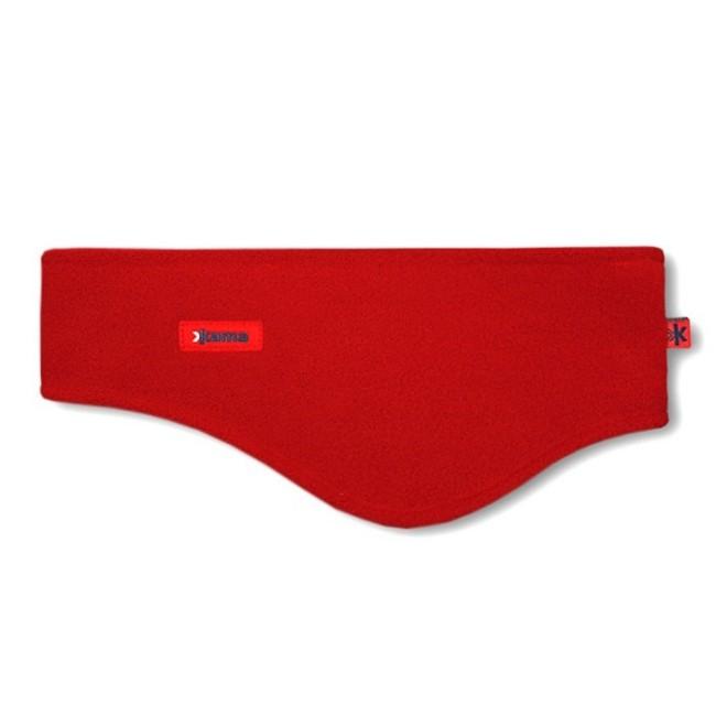 Pandebånd i blødt og lækkert Pontotorto Tecnopile 420 g/m2 fleece.Varmt, godt og billigt pandebånd, men stadig i et lækkert kvalitetsmateriale, som fås i flere forskellige farver. Her i farven rød. Denne model er bredere, og går ned over ørerne.Pandebånd - beklædning til mange formålEt utal af anvendelsesmuligheder, udover skiferien er pandebåndet oplagt til brug på cykelturen, scooteren, løbeturen og meget andet. Holder dig varm på meget vitale steder, og forebygger de skavanker som træk i hovedet kan forvolde.