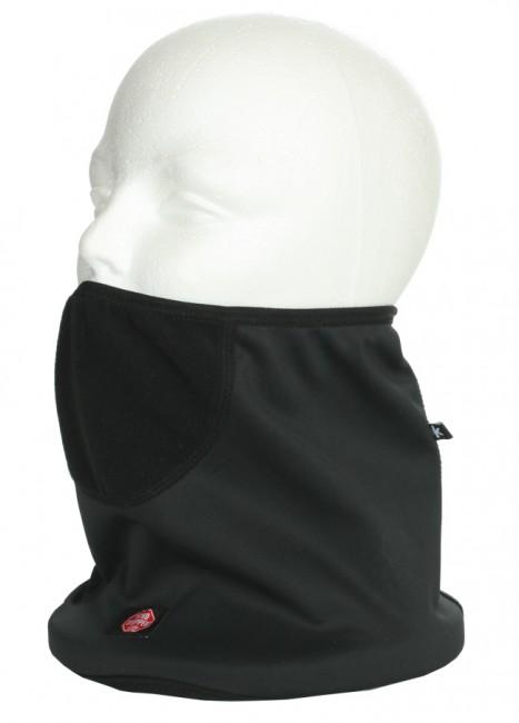 Halsedisse i 100% vindtæt Gore Windstopper Soft Shell materiale.En halsedisse i en fremragende kvalitet.26x23cm.