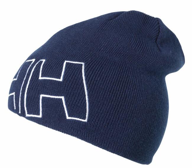 En frisk 2-lags Helly Hansen beanie i smart mørk blå farver og et cool design. Den er fremstillet i bløde og varme materialer. Huen har påtrykt HH logo. Kvalitet: Blød og lækker 30% uld og 70% acrylStørrelse: 3-5