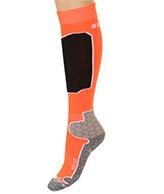 Seger Racer, skistrømper til herre, orange
