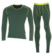 Löffler Transtex skiundertøj sæt, herre, grøn