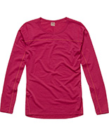 Haglöfs Actives Merino II Roundneck Women, rød