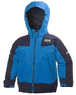 Helly Hansen K Velocity børne og junior skijakke, blå