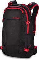 Dakine Heli Pro II 28L, sort/rød