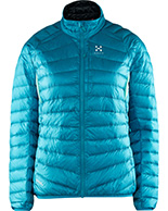 Haglöfs Essens III Down Jacket Women, lysblå