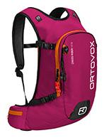 Ortovox Cross Rider 18 woman, rygsæk, rød