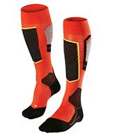 Falke SK4 skistrømper, mænd, orange