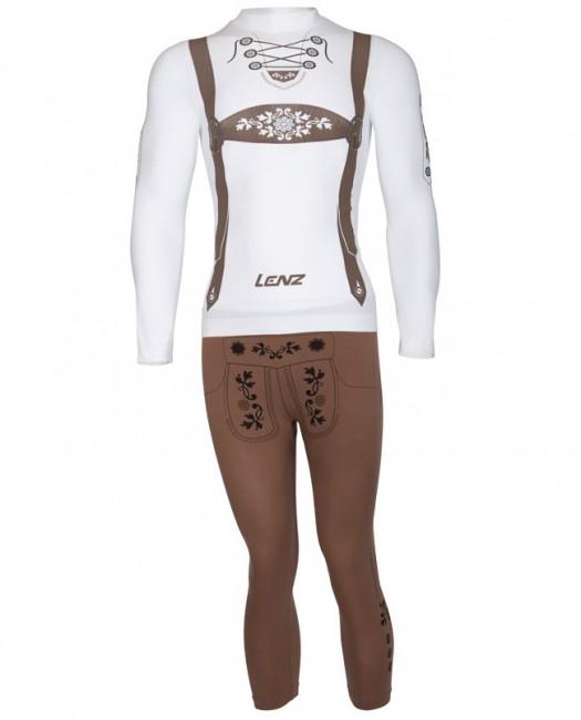 Lenz X-Action Hansi skiundertøj, sæt, herre thumbnail
