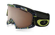 Oakley O2 XL, Stumped Lime, Black Iridium