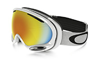 Oakley A Frame 2.0, Polished White, Fire Iridium