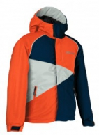 DIEL Fran pige skijakke,orange
