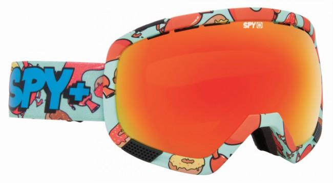 Spy+ Platoon Ski Goggle i grøn med Bronze with Red Spectra linse + ekstra Pink Contact linse. Fleksibel ramme der tilpasser sig ansigtetGod ventilationAntidugbehandlet100% uv beskyttelseTre lags skum Rem med gode justeringsmuligheder
