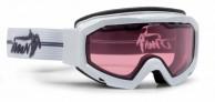 Demon Top skibriller, Fotokromisk linse, Hvid