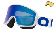 Out Of Shift skibriller, white/blue