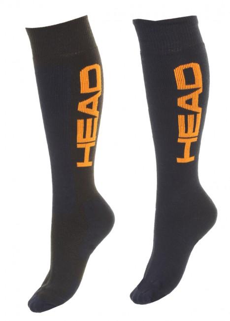 Varme skistømper i et har klassisk design. Sælges kun som 2-pak. Bemærk: De 2 par sokker har 2 forskellige farvesammensætninger.Elastiske områder, der sikrer god pasform Forstærkninger ved hæl og tå for højre slidstyrkeFlade syninger for god komfort.Forstærkning på skinneben som virker trykabsorberendeMaterialer: Acryl/Polyamid/Elastan mix.