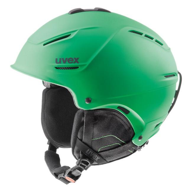 En fremragende og let allround skihjelm, med god pasform og lækkert design. IAS systemet sikrer at du kan justere hjelmen så den passer perfekt til netop dit hovede. Det indvendige for er aftageligt.Uvex p1us ski hjelm vejer ca. 20% mindre end tidligere fremstillet hardshells fra Uvex, og opfylder samtidig de højeste sikkerhedskrav. Den hårde yderskal og EPS-støddæmper på indersiden giver optimal beskyttelse. Luft kanaliserings systemet giver ventilation og regulerer temperaturen i hjelmen automatisk. Egenskaber:P1us Technology (Ekstrem let vægt og optimal sikkerhed)Monomatic Closure (Lukkemekaniske der kan betjenes og justeres med een hånd) Aftageligt anti-allergisk for, der kan vaskes Justerbar ventilation Goggle holder SpecififikationerVægt: fra 410 gCertificering: EN 1077B StandardenEn god hjelm at købe online, da IAS systemet sikrer perfekt pasform.