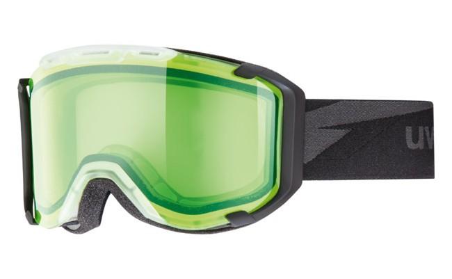 Uvex Snowstrike skibriller har alt det der betyder noget. Optimalt udsyn og meget høj kontrast, uanset vejrforhold. Den ydre linse med UVEX Supravision® teknologien giver effektiv beskyttelse mod reflekser og blænding fra sollys.Linse(stimu lens): Alert S1Alert linsen giver godt udsyn i tåget vejr. Den grønne nuance i linsen stimulerer din bevidsthed og koncentration. Derudover har linsen en meget lys intensiverende effekt, hvorved sigtbarheden i tåge forbedres markant. Andre egenskaber:- Supravision® - Hjelmkompatibel - 100% UVA-, UVB-, UVC beskyttelse - Dobbelt linse - Antidug