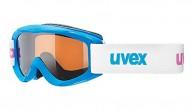 Uvex Snowy Pro, børneskibrille, blå