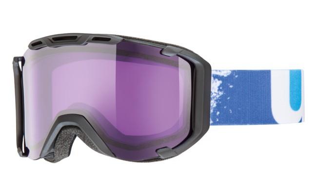 Uvex Snowstrike skibriller har alt det der betyder noget. Optimalt udsyn og meget høj kontrast, uanset vejrforhold. Den ydre linse med UVEX Supravision® teknologien giver effektiv beskyttelse mod reflekser og blænding fra sollys.Linse(stimu lens): Psycho S2Psyko linsen stimulerer raceren i os. Den gør godt lys endnu bedre. Den lilla tone stimulerer dine sanser, pirrer din eventyrlyst og øger din bevidsthed. Andre egenskaber:- Supravision® - Hjelmkompatibel - 100% UVA-, UVB-, UVC beskyttelse - Dobbelt linse - Antidug