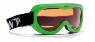 Demon Snow 6 junior skigoggle, green fluo
